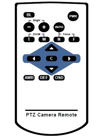 Пульт управления для камеры Prestel hd-ptz1